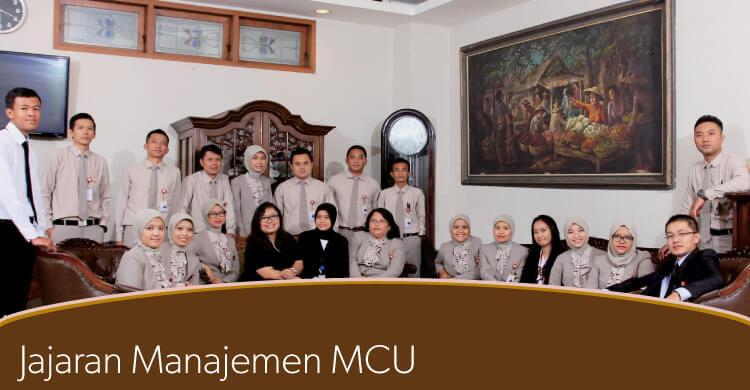 Jajaran Manajemen MCU